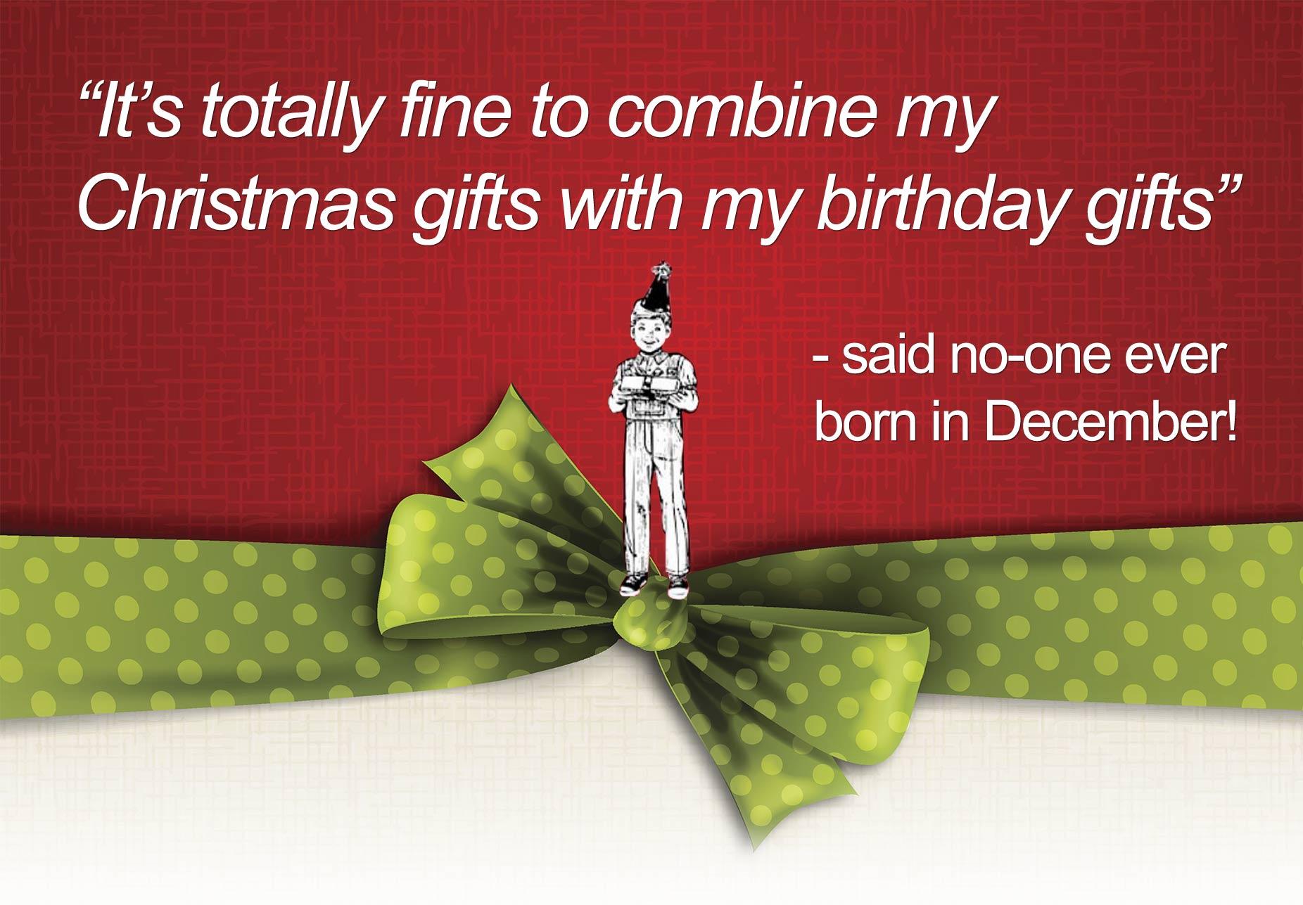 December birthday? Bitter or Sweet? - Ardmore Advertising