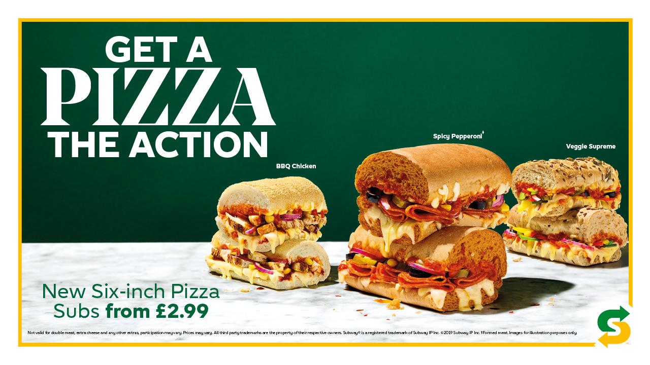 Subway Pizza Sub Campaign Ardmore Advertising