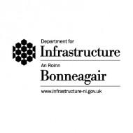 Department for Infrastructure - An Roinn Bonneagair logo