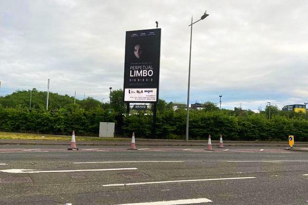 Ulster University Greer Garson Film Award - OOH advertising